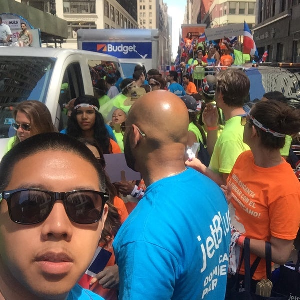 Photo taken at Garment District by Kevin D. on 8/9/2015