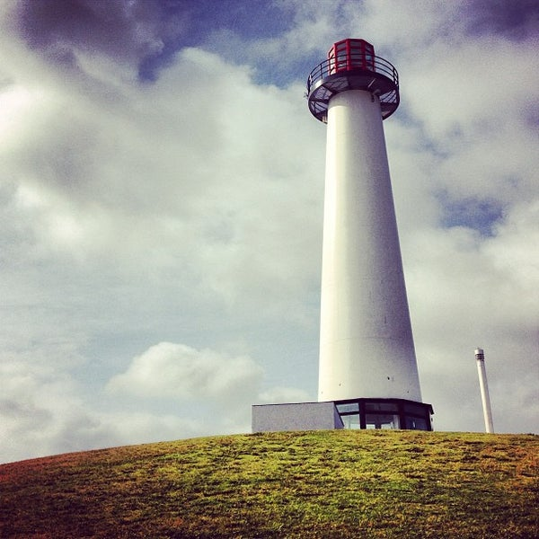 Photo taken at Parkers' Lighthouse by Zachary F. on 5/28/2013
