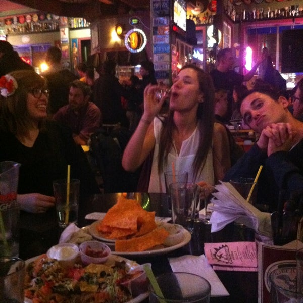 Photo taken at Sunset Cantina by Lauren W. on 2/23/2013