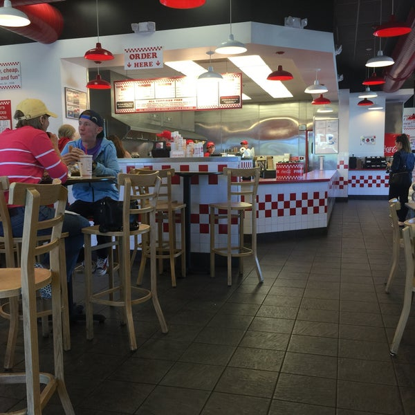 Photo taken at Five Guys by Jean C. on 2/7/2015