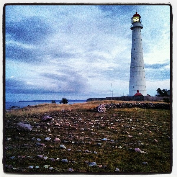 Photo taken at Tahkuna Lighthouse by Elena P. on 11/4/2012