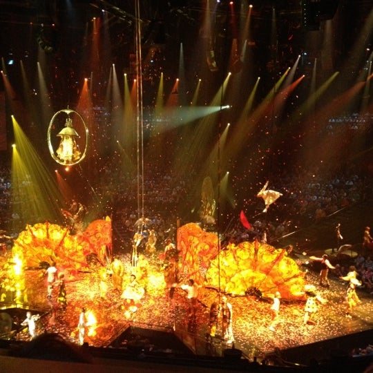 Photo taken at The Beatles LOVE (Cirque Du Soleil) by Yuliya N. on 10/1/2012