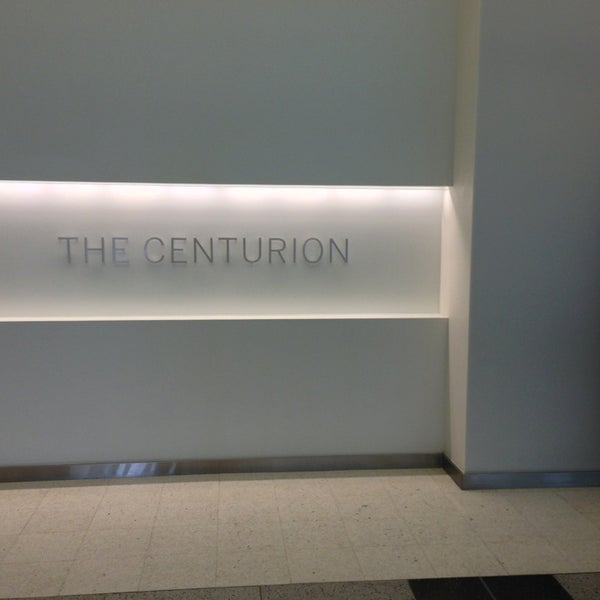 Photo taken at The Centurion Lounge by American Express by Alison on 4/6/2013