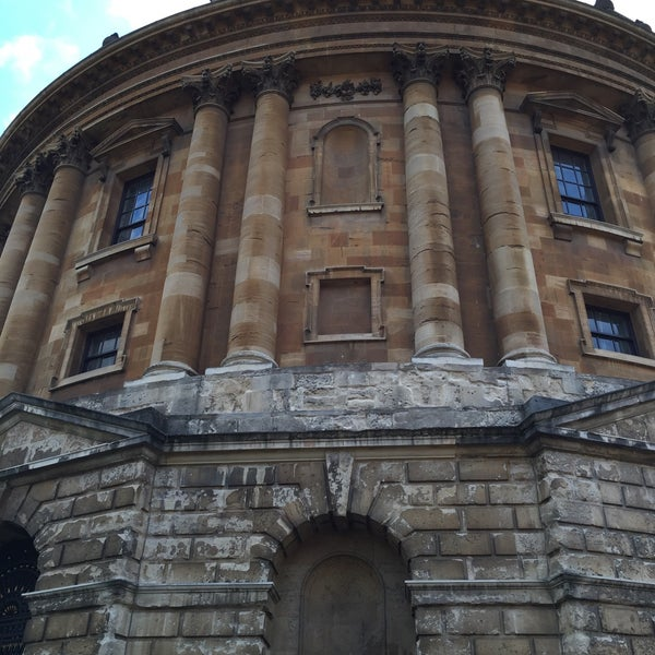 Photo taken at Radcliffe Camera by Charles J. on 6/18/2016
