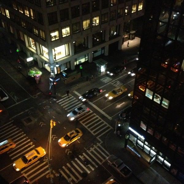 Photo taken at DoubleTree by Hilton Hotel Metropolitan - New York City by Guilherme A. on 2/8/2013