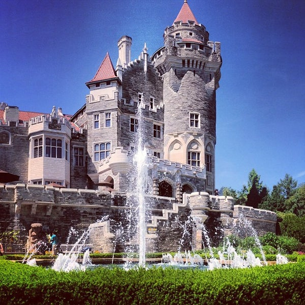 Photo taken at Casa Loma by Tj C. on 6/19/2013
