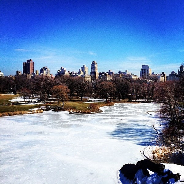 Photo taken at Belvedere Castle by Dominic G. on 3/8/2014