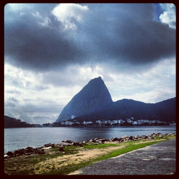 Photo taken at Aterro do Flamengo by Rodrigo C. on 1/20/2013