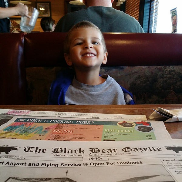 Photo taken at Gilbert Black Bear Diner by Crystal O. on 11/20/2014