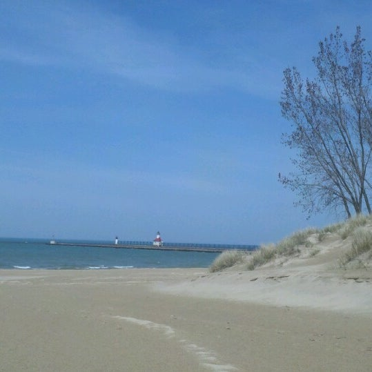 Photo taken at Silver Beach by Tracy F. on 4/30/2013