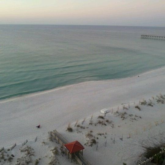 Photo taken at Hilton Pensacola Beach by Anand P. on 11/20/2012