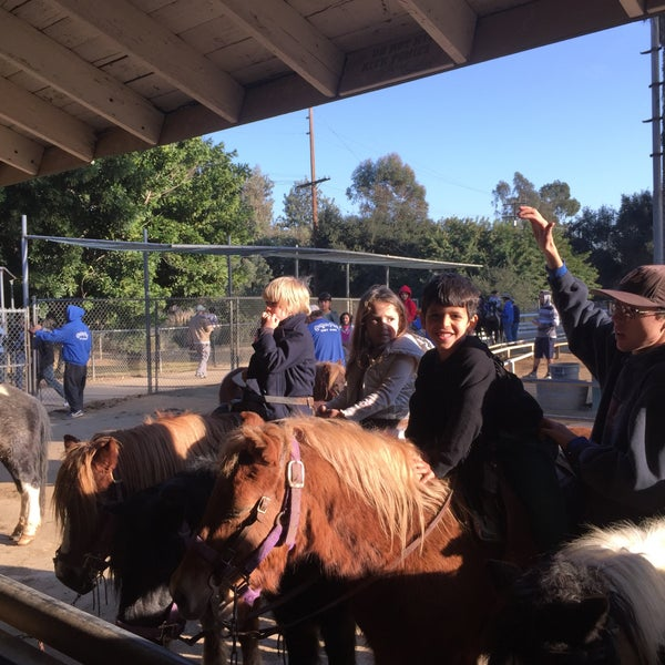 Photo taken at Griffith Park Pony Rides by Mezna A. on 1/1/2015