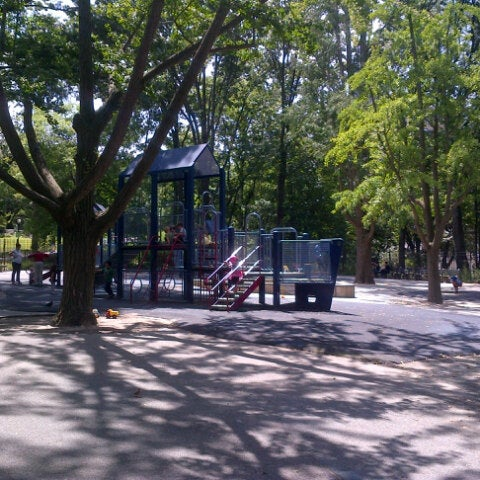 Photo taken at Central Park - Mariners' Gate Playground by Camilo F. on 8/15/2013