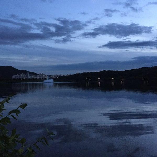 Photo taken at Yuldong Park by luogo segreto on 7/14/2016