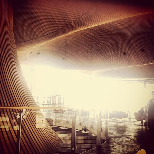 Photo taken at The National Assembly for Wales by Gavin D. on 4/22/2012