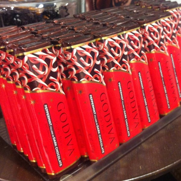Photo taken at Godiva Chocolatier by Jerry S. on 1/2/2013