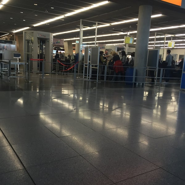 Photo taken at Terminal 3 by Şehriban S. on 5/6/2015