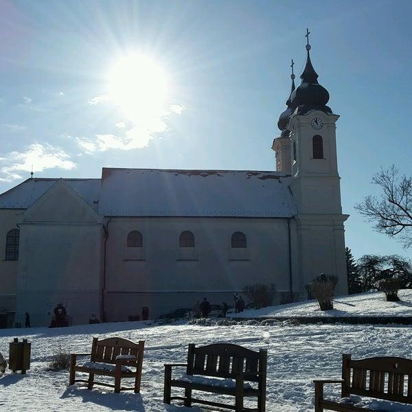 Photo taken at Tihanyi Apátság by Nikol N. on 1/15/2017