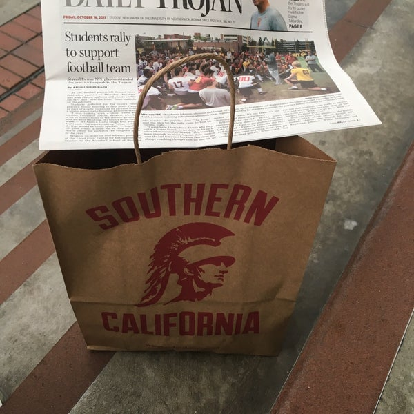 Photo taken at USC Bookstore (BKS) by Blackford O. on 10/17/2015