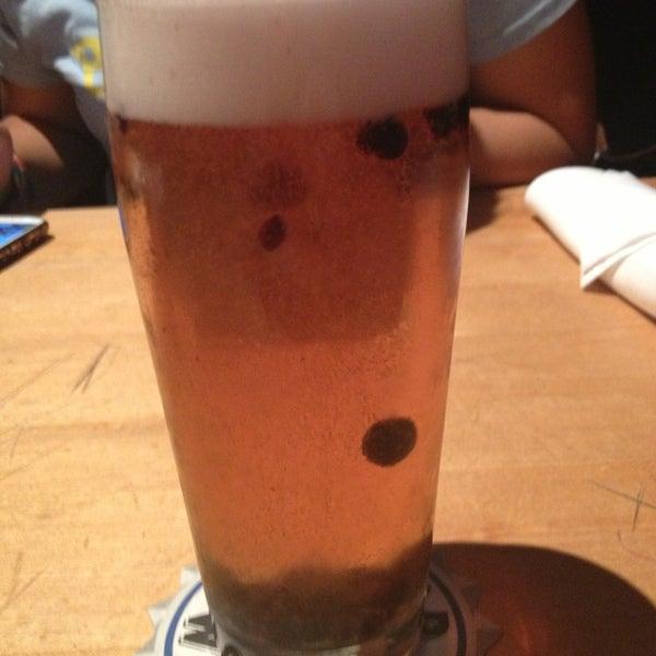 Photo taken at Boston Beer Works by Amanda S. on 7/27/2013