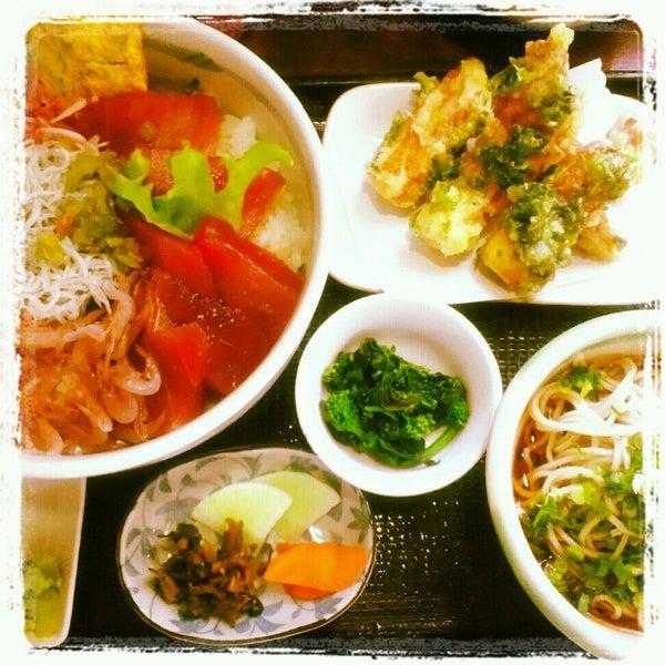 Photo taken at 食堂さくら屋 by Keishi N. on 3/6/2013