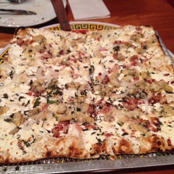 Photo taken at Joe Squared Pizza & Bar by Rebecca V. on 9/28/2013