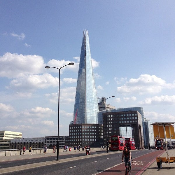 Photo taken at London Bridge by Chris H. on 7/13/2013