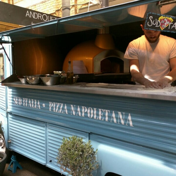 Cool Places In London For Lunch: Food Truck In London