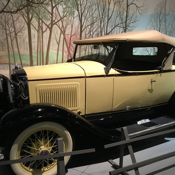 Photo taken at The Antique Automobile Club of America Museum by Ann L. on 3/19/2016