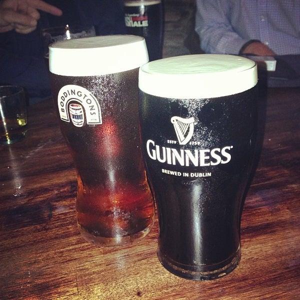 Photo taken at Fadó Irish Pub & Restaurant by Brian K. on 3/9/2013