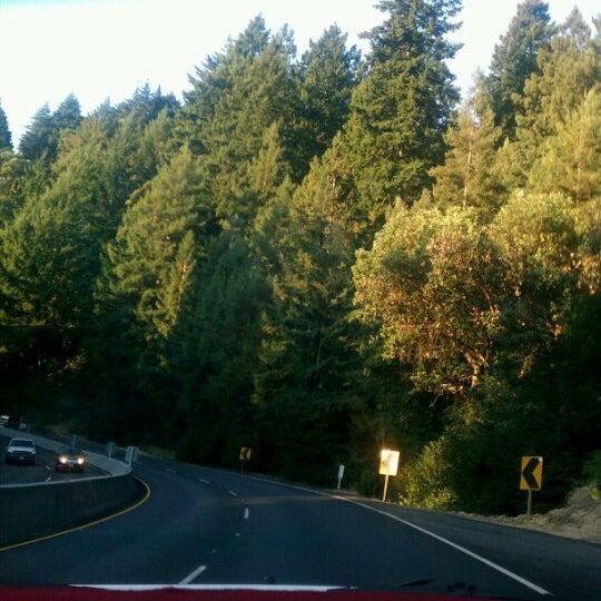 Photo taken at Santa Cruz Mountains by Dorothy D. on 9/24/2012