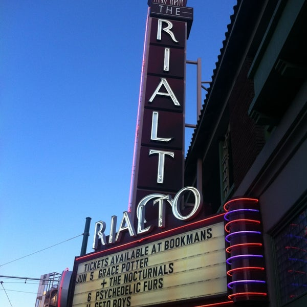 Photo taken at The Rialto Theatre by Keith K. on 5/29/2013