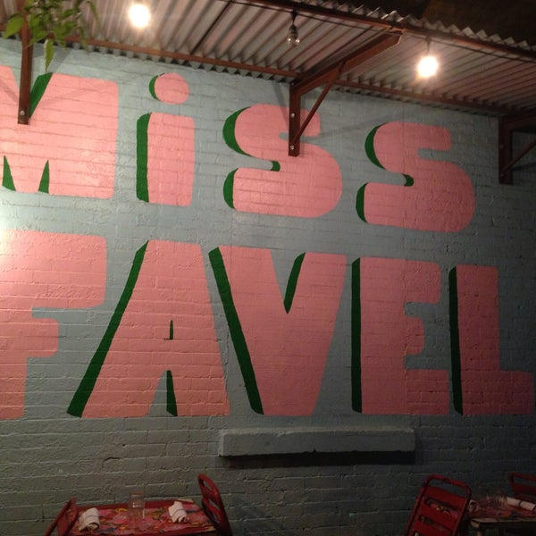 Photo taken at Miss Favela by Dilek K. on 5/11/2013