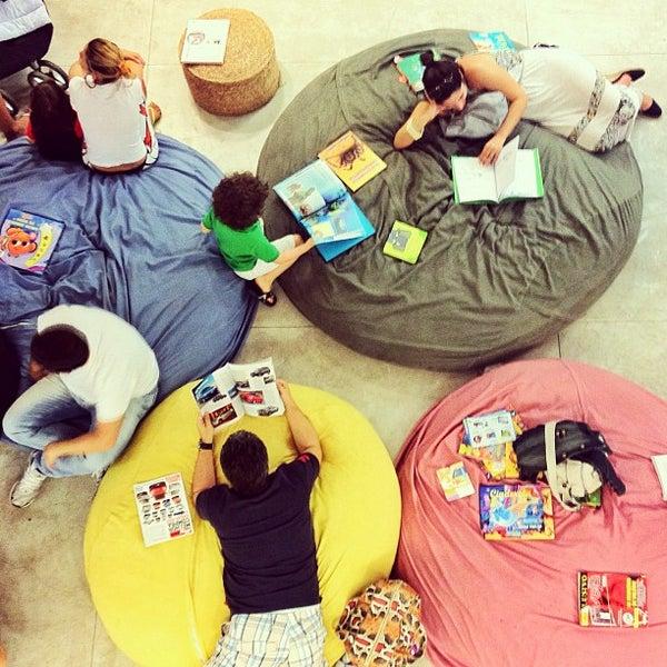 Photo taken at Livraria da Vila by k. on 9/15/2012
