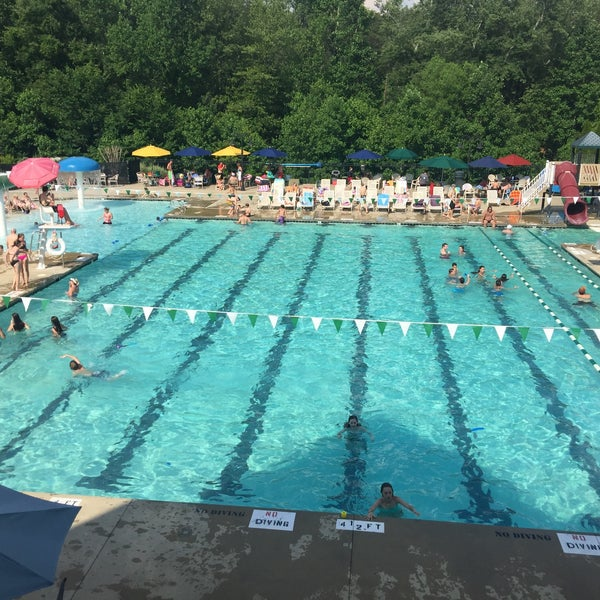 Ridgewood Swim And Tennis Club Pool In Greensboro
