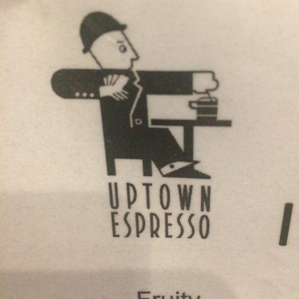 Photo taken at Uptown Espresso by Rain T. on 12/27/2016
