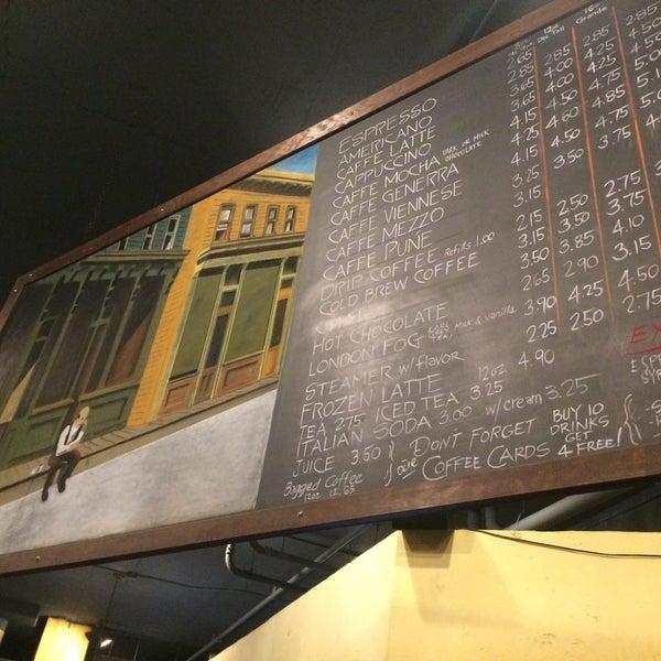 Photo taken at Uptown Espresso by Rain T. on 12/12/2016