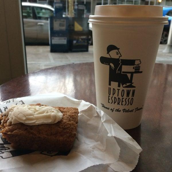 Photo taken at Uptown Espresso by Rain T. on 11/23/2016