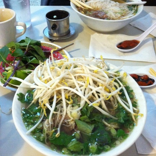 Photo taken at Pho 75 by Jacqueline L. on 1/1/2013