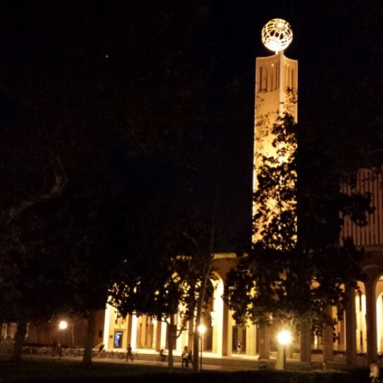 Photo taken at Doheny Memorial Library (DML) by Julia P. on 9/24/2014