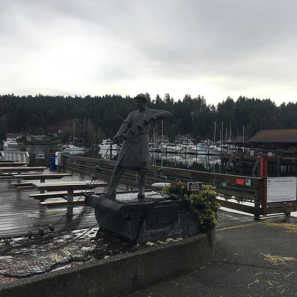 Photo taken at Gig Harbor Waterfront by Dameon W. on 3/11/2016