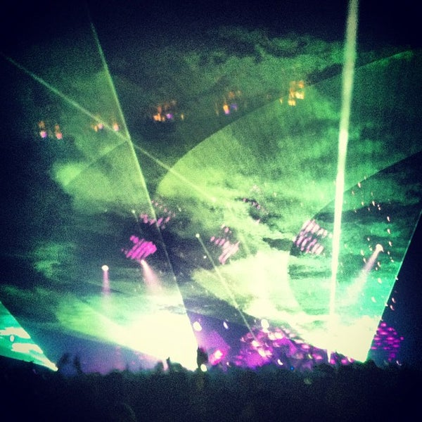 Photo taken at Hammerstein Ballroom by Jason P. on 10/4/2012