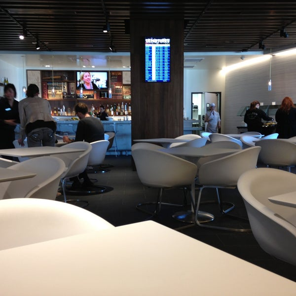 Photo taken at The Centurion Lounge by American Express by Mark M. on 4/15/2013