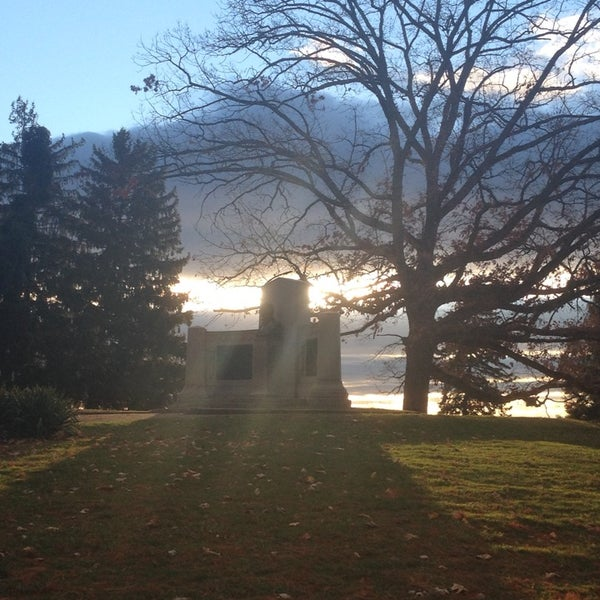 Photo taken at Gettysburg National Cemetery by John R. on 11/19/2013