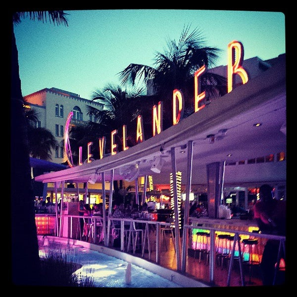 Photo taken at Clevelander by Brian F. on 7/24/2013