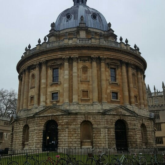 Photo taken at Radcliffe Camera by Jiyoung J. on 3/18/2016