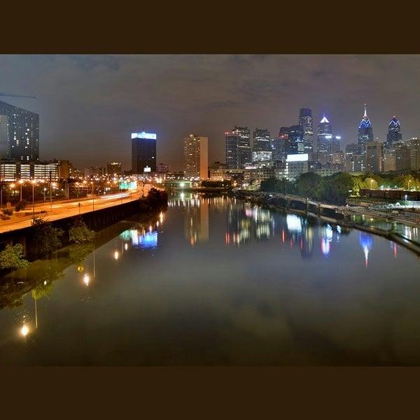 Photo taken at South Street Bridge by Taner K. on 7/6/2014