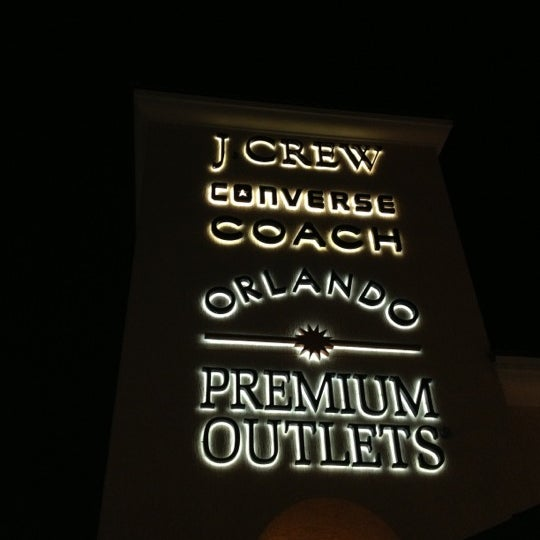 Photo taken at Orlando Premium Outlets - Vineland Ave by Hikmet Emre K. on 11/9/2012