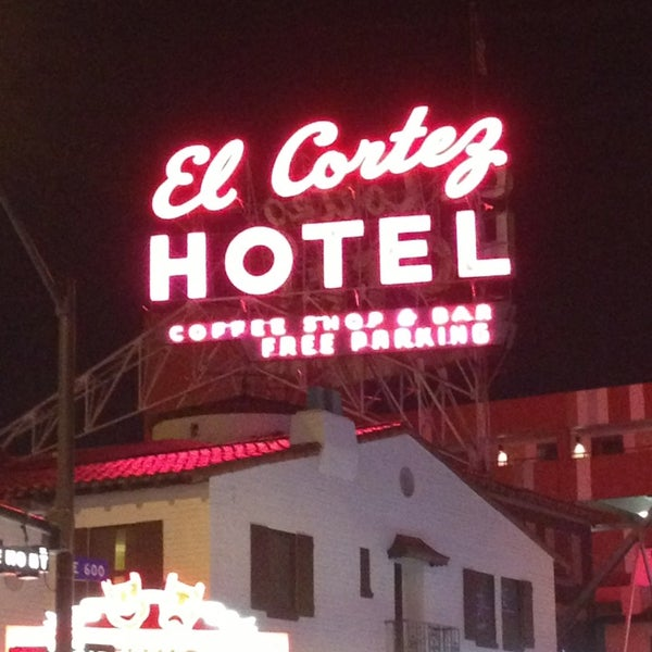 Photo taken at El Cortez Hotel & Casino by Darin B. on 1/27/2013