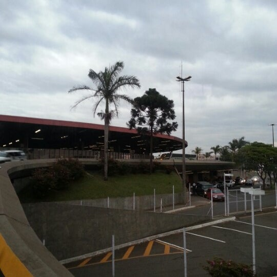 Photo taken at Terminal Rodoviário José Garcia Villar by Assyr N. on 10/11/2012